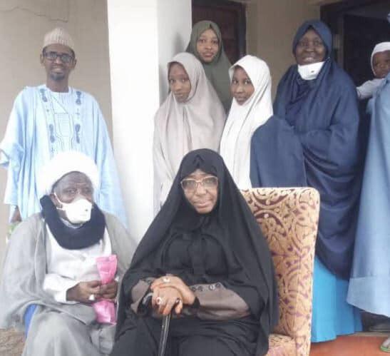 Breaking News: El-zakzaky & His Wife Suddenly Arrive Nigeria