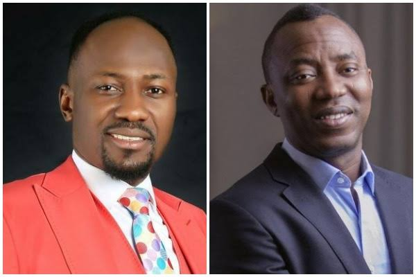 Omoyele Sowore Rejects Apostle Suleman's Bail Offer
