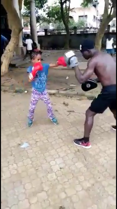 8-Year-Old Boxer, Shekinah To Be Adopted By Ministry Of Sports